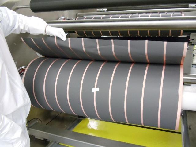 Battery Electrode Coated Foil